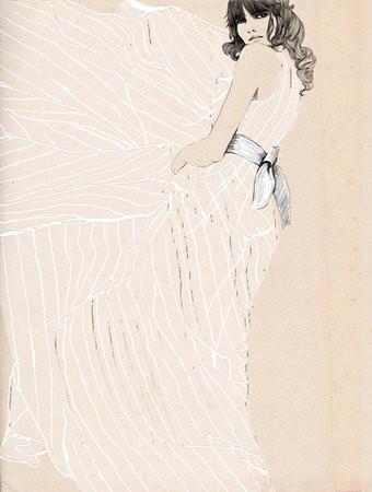 Soft and feminine illustration