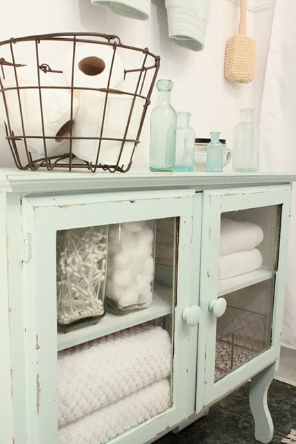 Decor Ideas Fresh Mint Green For The Bathroom Salome Interiors