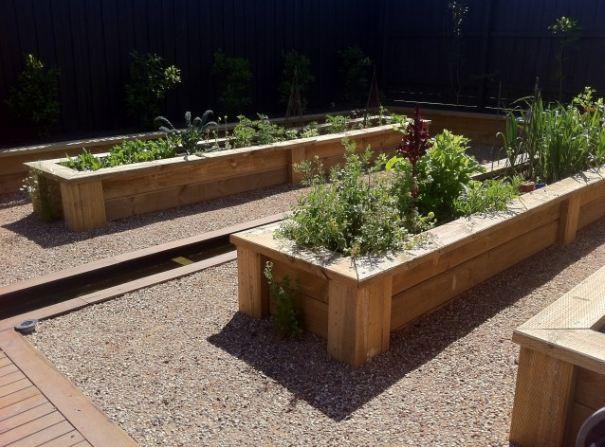 Wooden Box Vegetable Garden