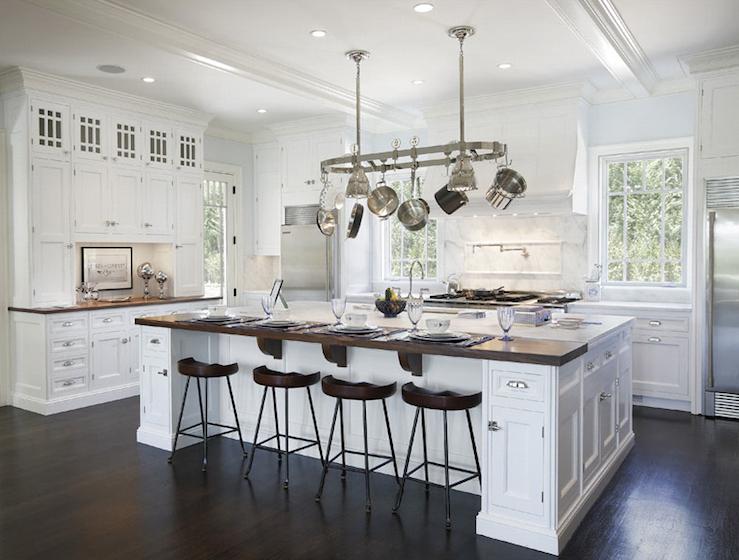 Attractive Solutions to oversized kitchen islands - Salome Interiors FJ21