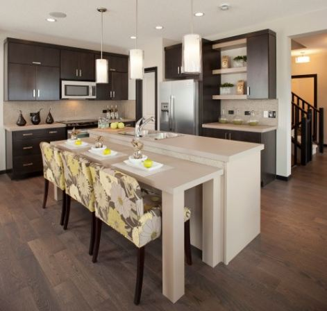 two level kitchen island solutions to oversized kitchen islands salome interiors 22454